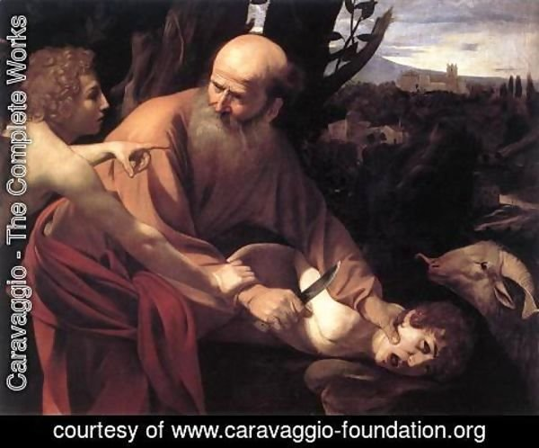 Caravaggio - The Sacrifice of Isaac 1601-02