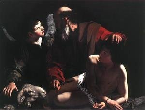 Caravaggio - The Sacrifice of Isaac c. 1605
