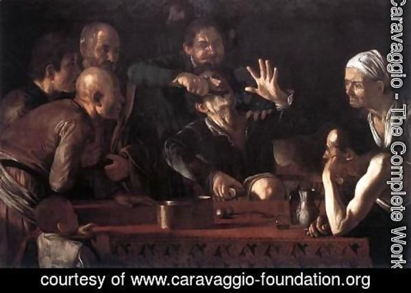 Caravaggio - The Tooth-Drawer 1607-09