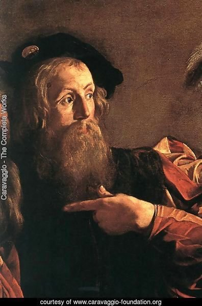 The Calling of Saint Matthew (detail 4) 1599-1600