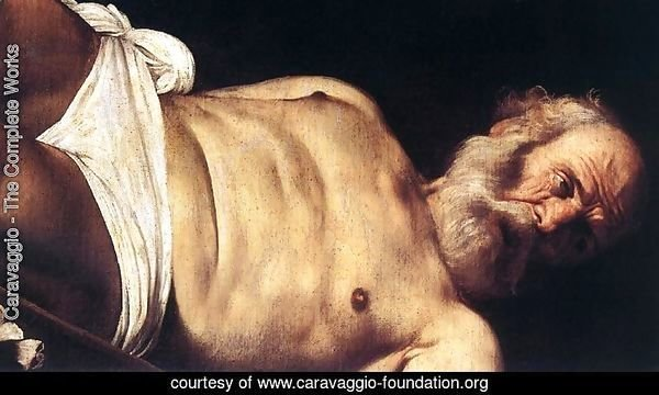 The Crucifixion of Saint Peter (detail 2) 1600