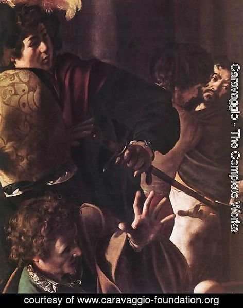 Caravaggio - The Martyrdom of St Matthew (detail 1) 1599-1600