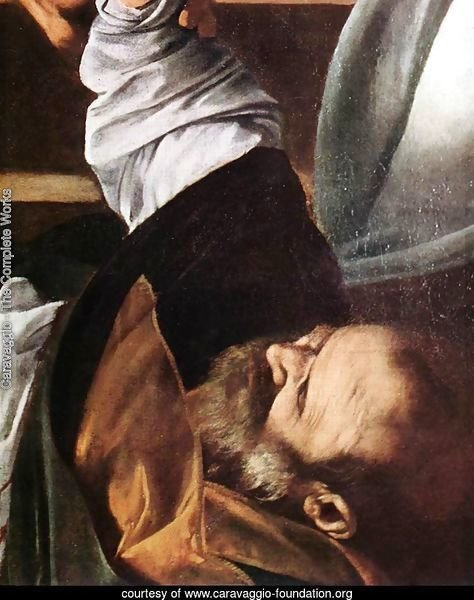 The Martyrdom of St Matthew (detail 3) 1599-1600
