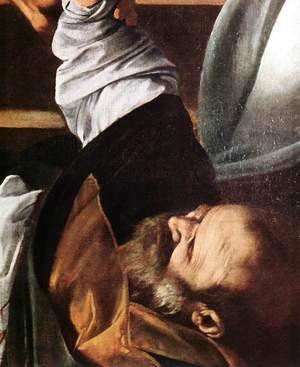 Caravaggio - The Martyrdom of St Matthew (detail 3) 1599-1600