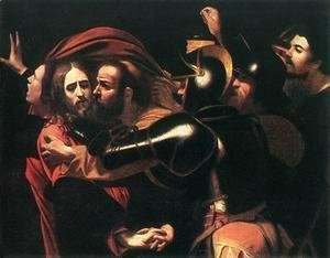 Caravaggio - The Taking of Christ c. 1598