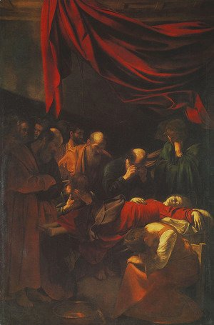 Caravaggio - Death of the Virgin