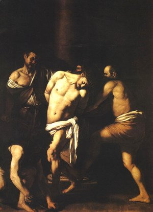 Caravaggio - Flagellation of Christ