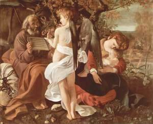 Rest on the Flight into Egypt (Riposto durante la fuga in Egitto)